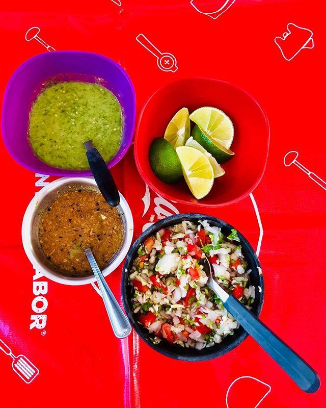 My almost daily breakfast condiments. #livelikealocal #TaqueriaHonorio ⠀⠀⠀⠀⠀⠀⠀⠀⠀⠀⠀⠀ ⠀⠀⠀⠀⠀⠀⠀⠀⠀⠀⠀⠀ ⠀⠀⠀⠀⠀⠀⠀⠀⠀⠀⠀⠀ ⠀⠀⠀⠀⠀⠀⠀⠀⠀⠀⠀ ⠀⠀⠀⠀⠀⠀⠀⠀⠀⠀⠀⠀ ⠀⠀⠀⠀⠀⠀⠀⠀⠀⠀⠀⠀ ⠀⠀⠀⠀⠀⠀⠀⠀⠀⠀⠀⠀ #glutenfree #salsamania #mangerbien #tulum #mexico #tacos🌮 #paleogftulum #iamatraveler #liveauthentic #passionpassport #wearetravelgirls #digitalnomadgirls #dametraveler #citizenfemme #girlsborntotravel #sheisnotlost #darlingescapes #electrifytravels #foodietravel #foodadventure #foodgraphy #vscofood #miammiam #onmytable #fromthetop #wheretoeat #paleo #mangerbien #sansgluten