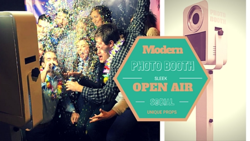 Open Air Photo Booth | Classic Photo Booth | Open Air Photo