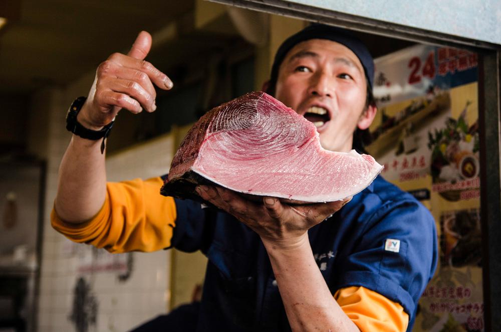 Tokyo Fish Market, Japan