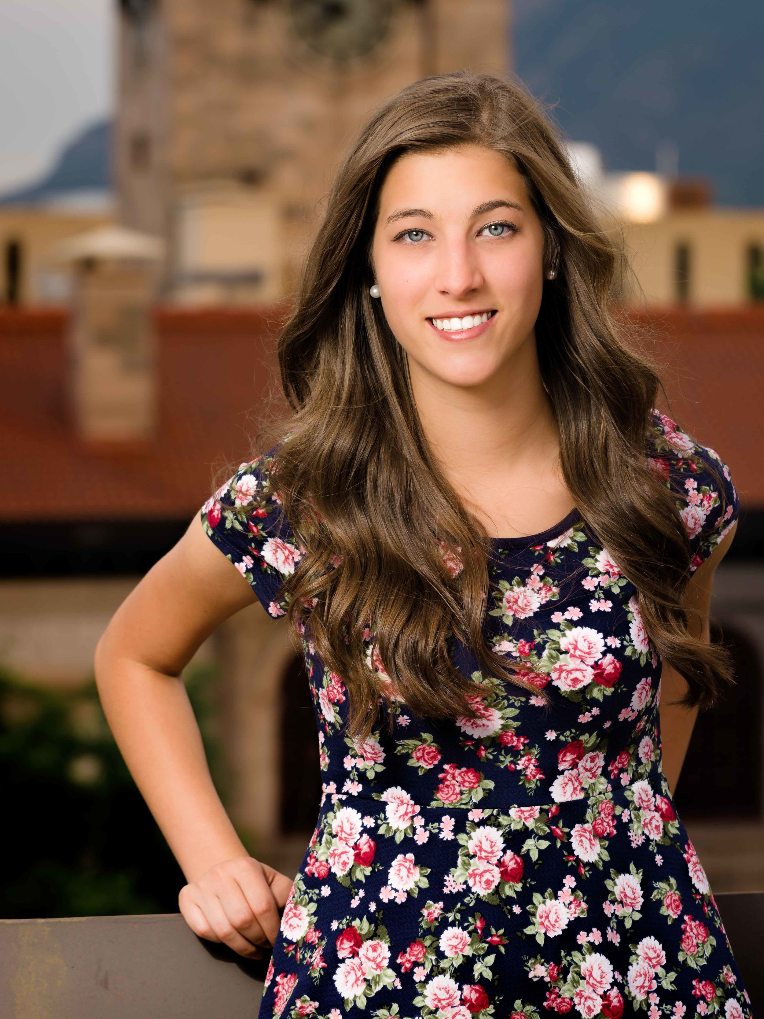 Amy H. from Palmer High School.  Senior photo session, 2015.