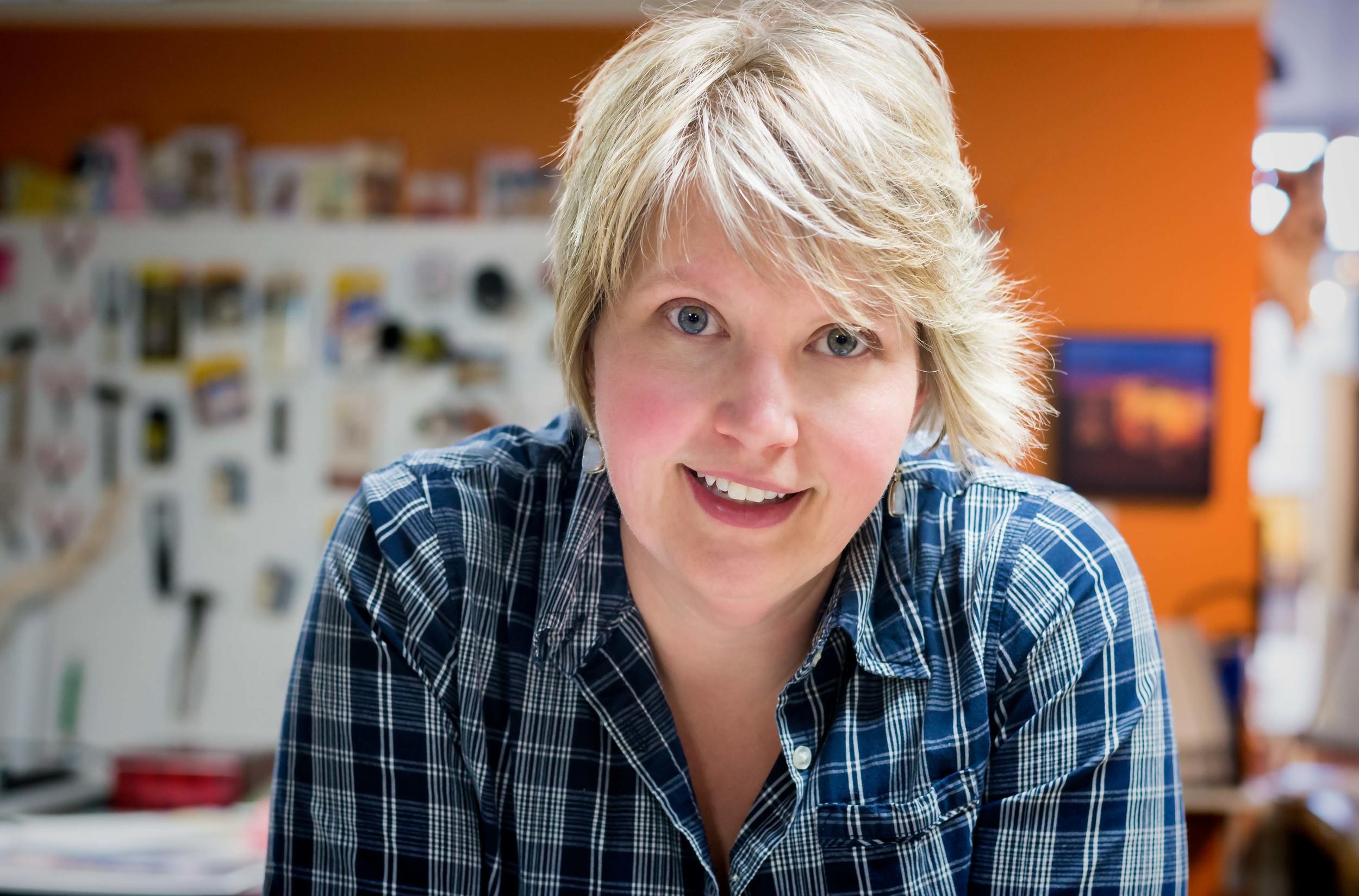 Kathleen McFadden, photographer/owner, Range Gallery.