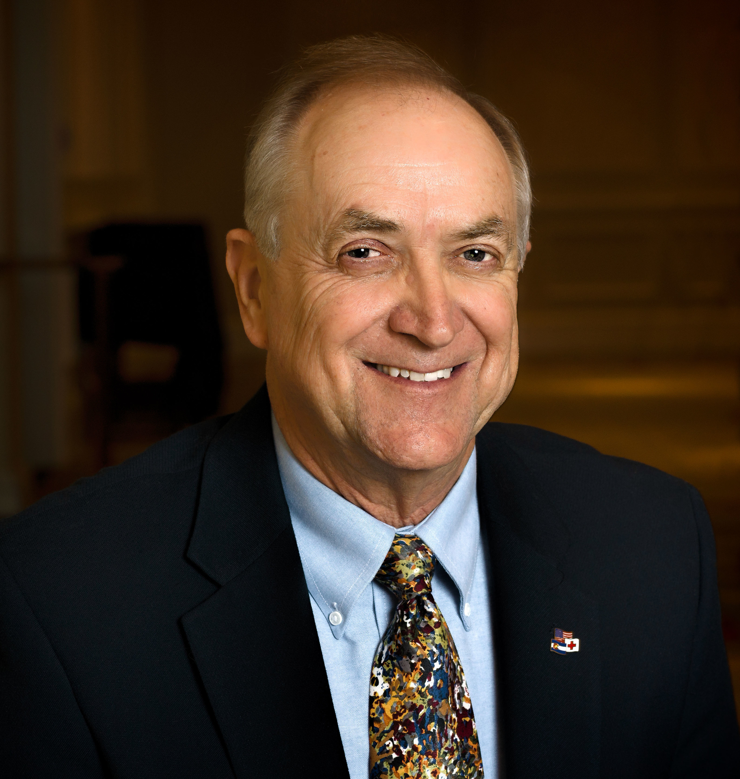 Mr. William Fortune, Public Affairs Director of the Southeastern Colorado Chapter of the American Red Cross.