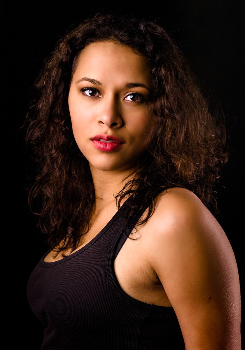 Tyra O.  Model portfolio shoot