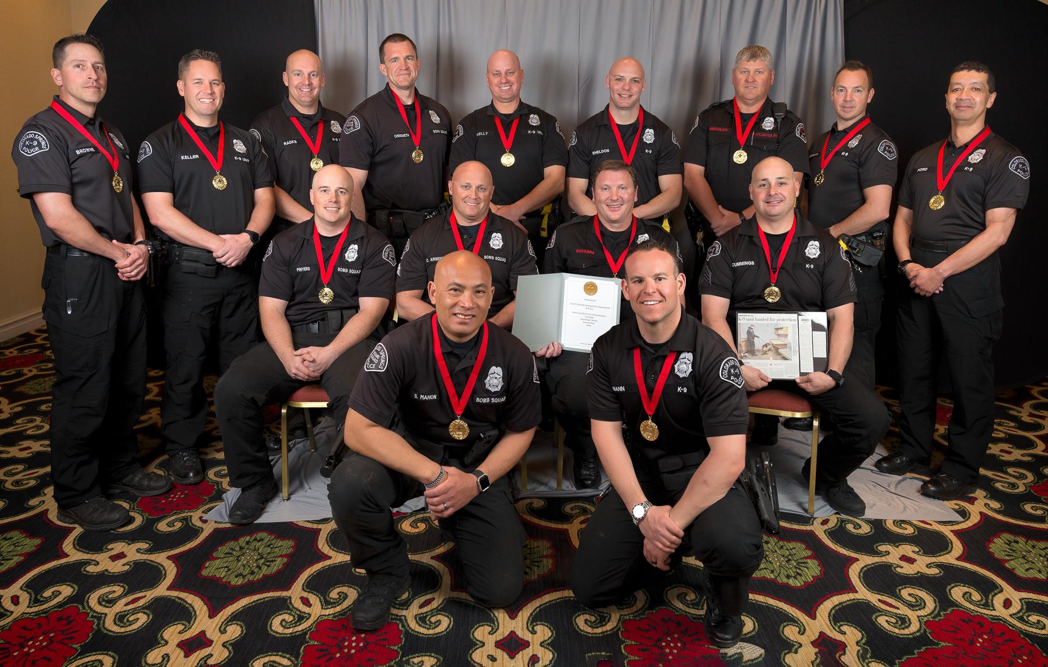 Red Cross Colorado Springs Hometown Heroes Award Dinner, 2018