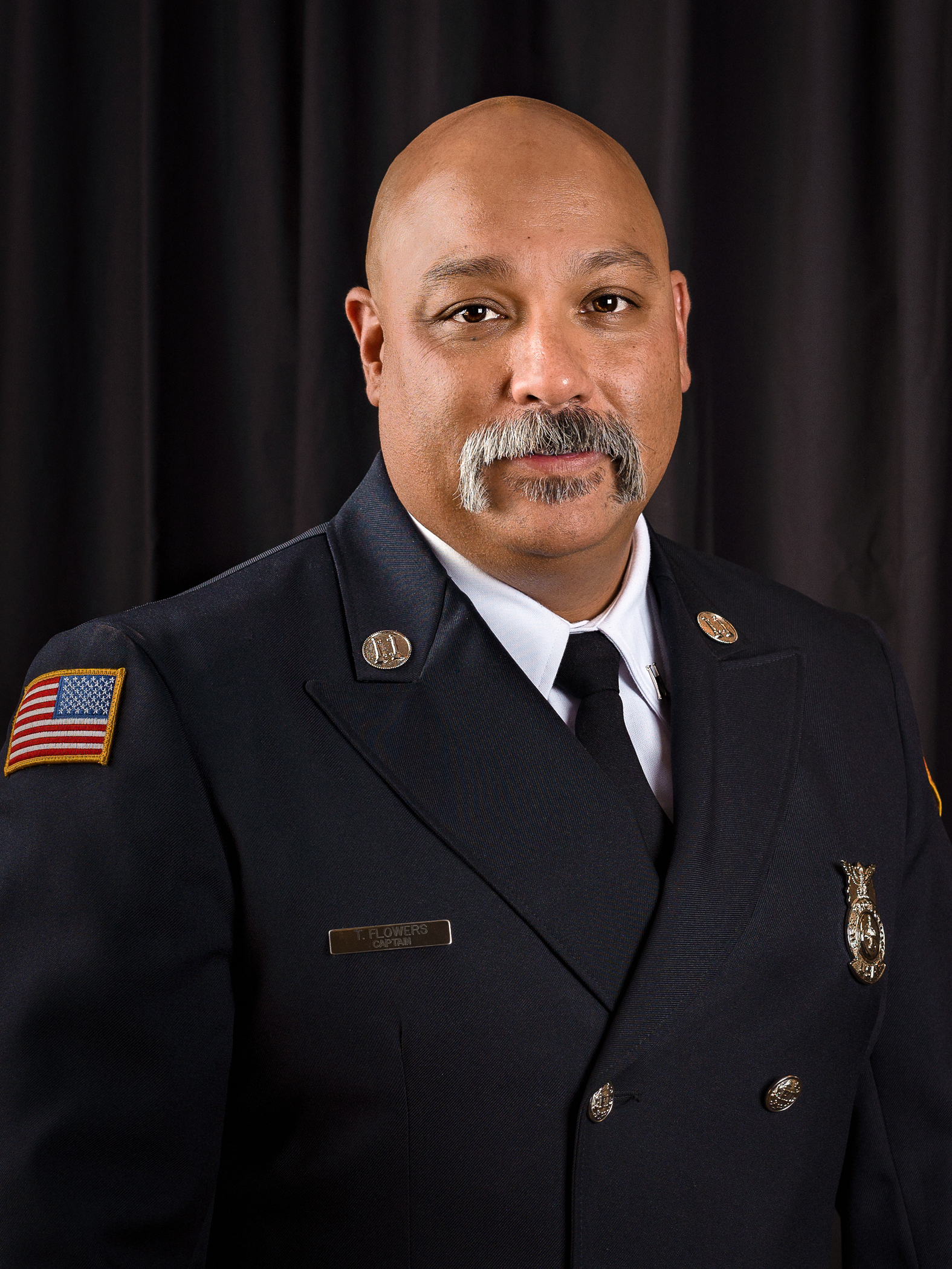Captain Tony Flowers, Schriever A.F.B. Fire Emergency Services
