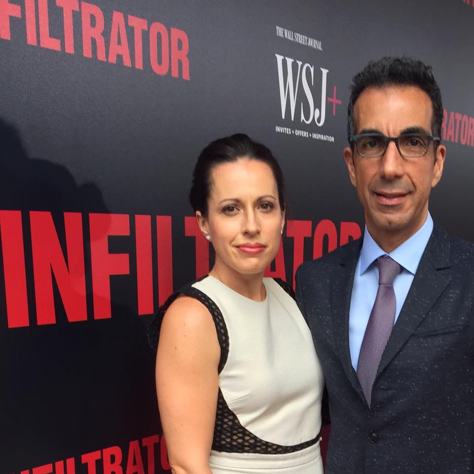 With composer  Chris Hajian , on the red carpet at the premiere of  The Infiltrator     (Orchestrator, Conductor)  2016