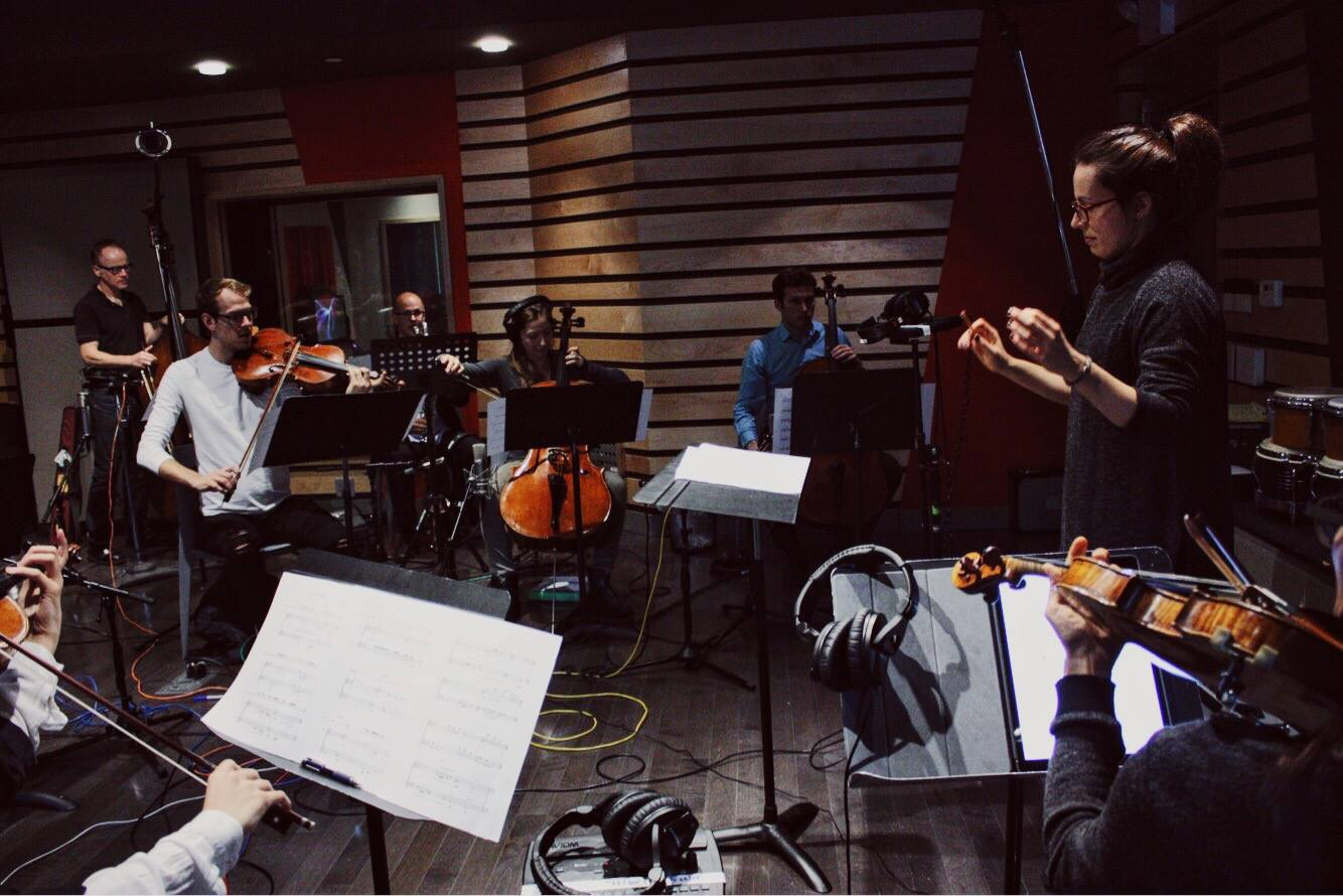 Recording chamber music, 2016  (Composer, Conductor)
