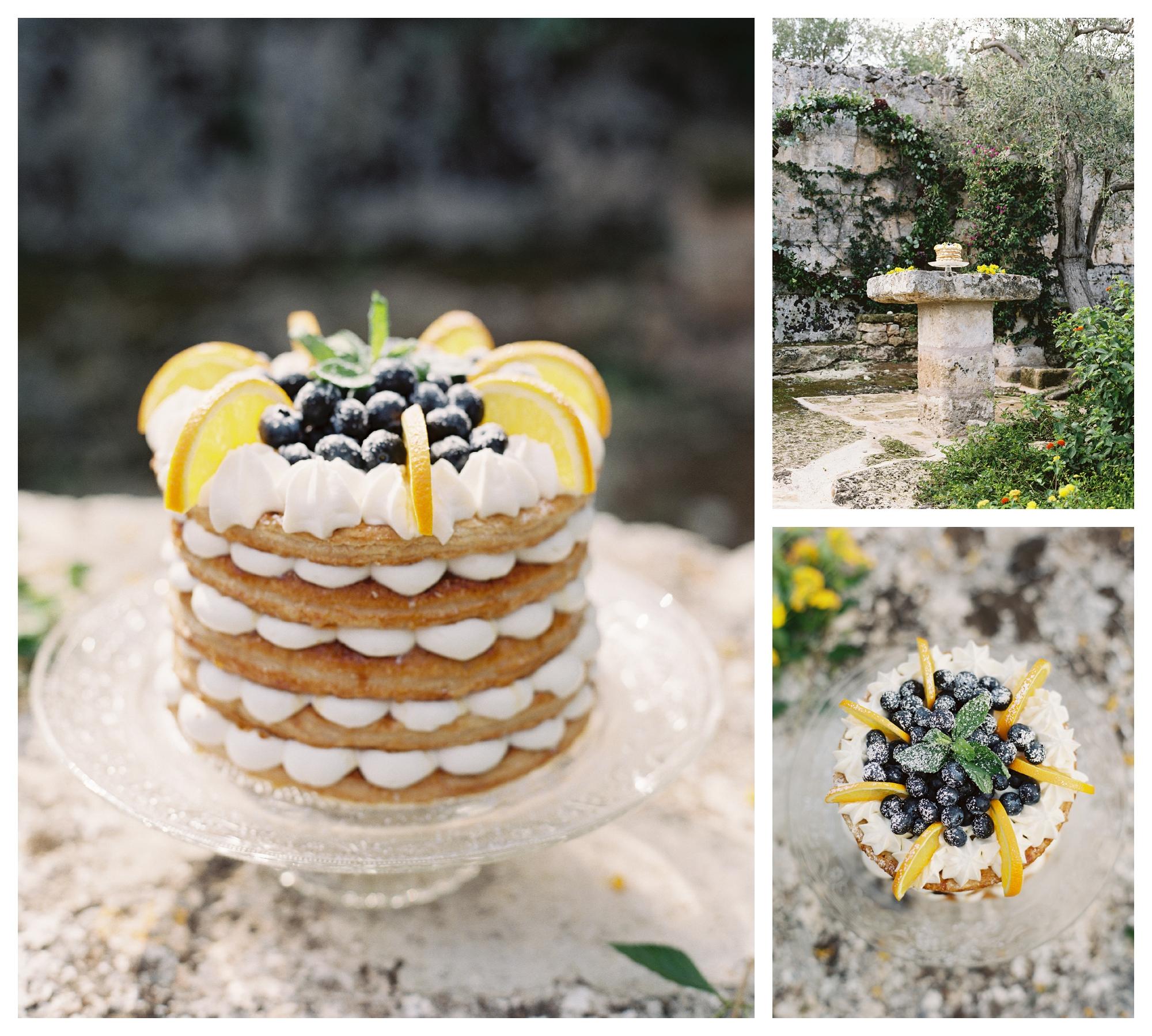 millefoglie cake, wedding cake, italian wedding cake, summer wedding