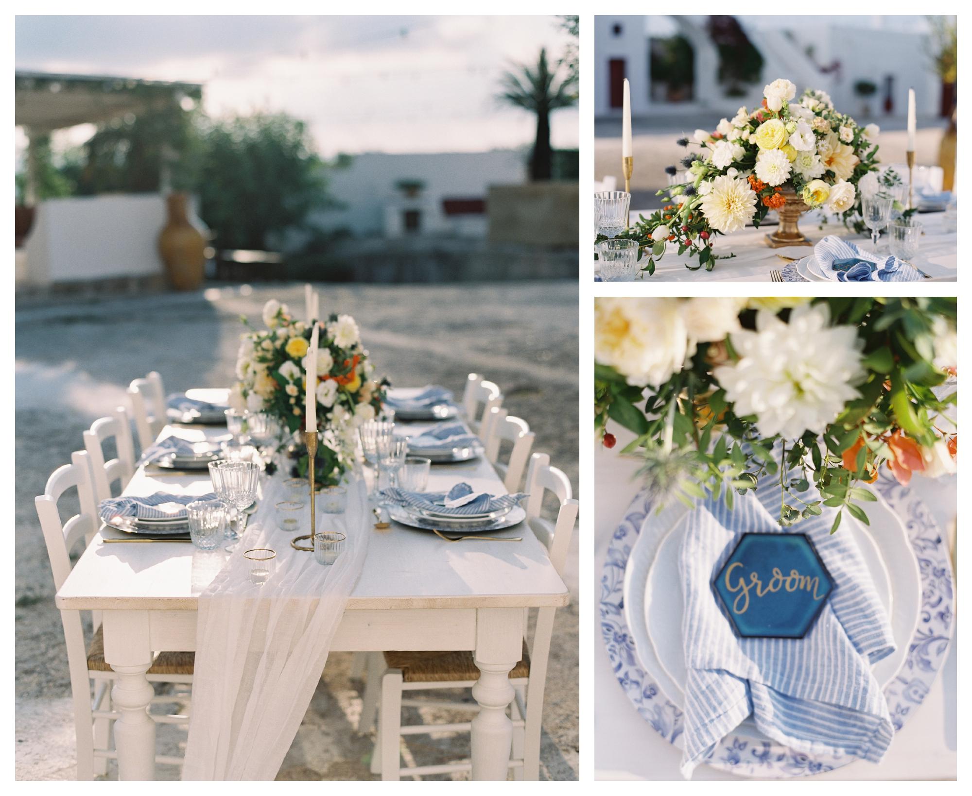 wedding linens, wedding table decor, destination wedding italy