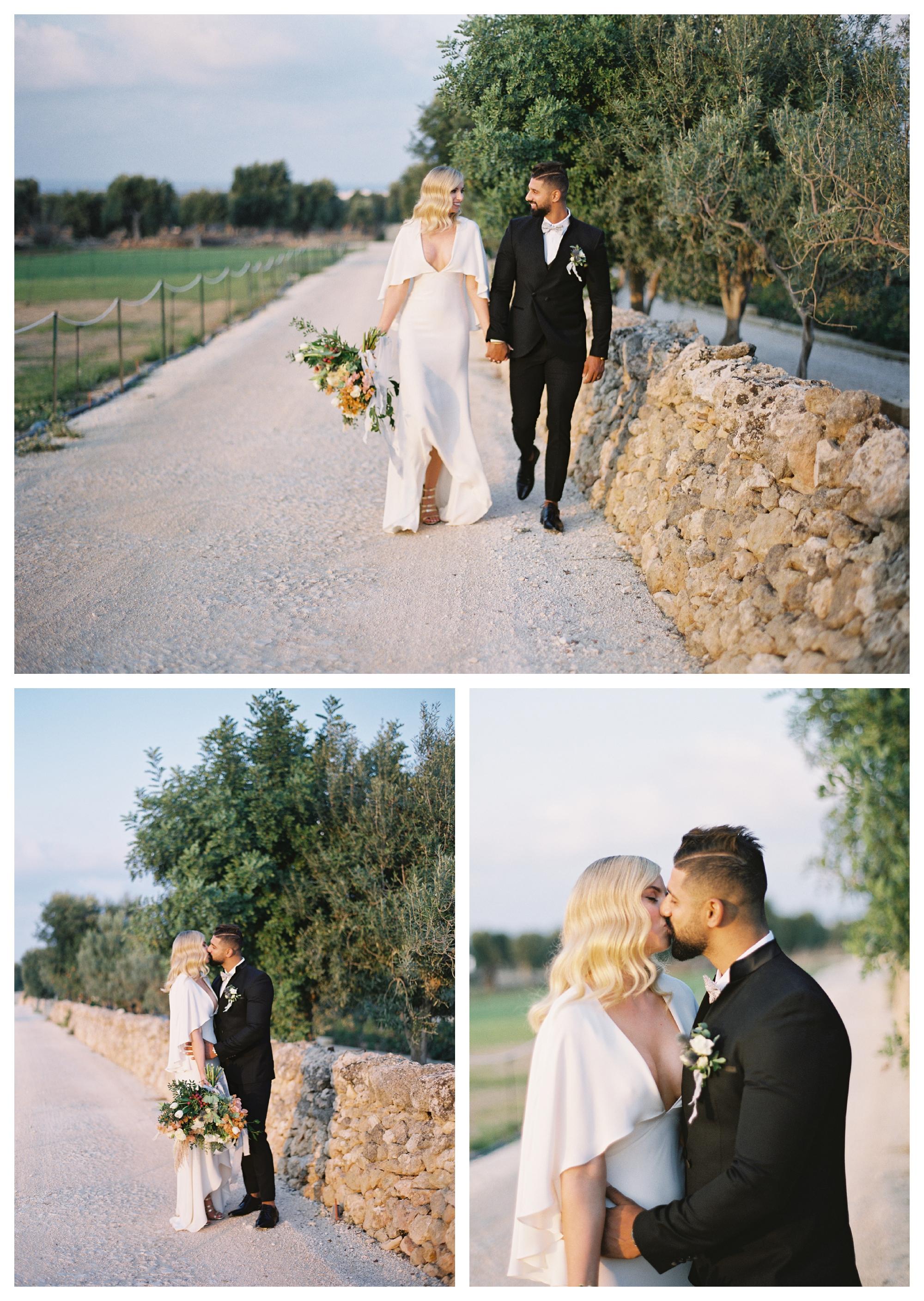 wedding portraits, bride and groom, puglia wedding photos, italy wedding, destination wedding puglia, masseria wedding