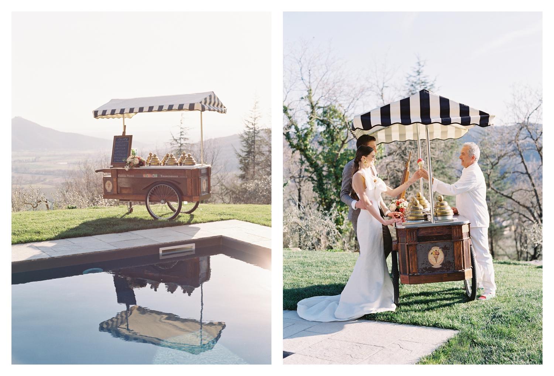 williamsburg photo studios, wedding gelato cart, villa montanare wedding, tuscany wedding venue