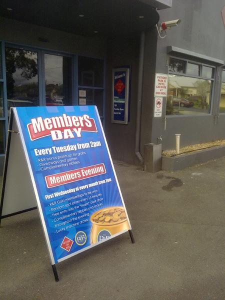 Members Day Aframe Signs Geelong.jpg