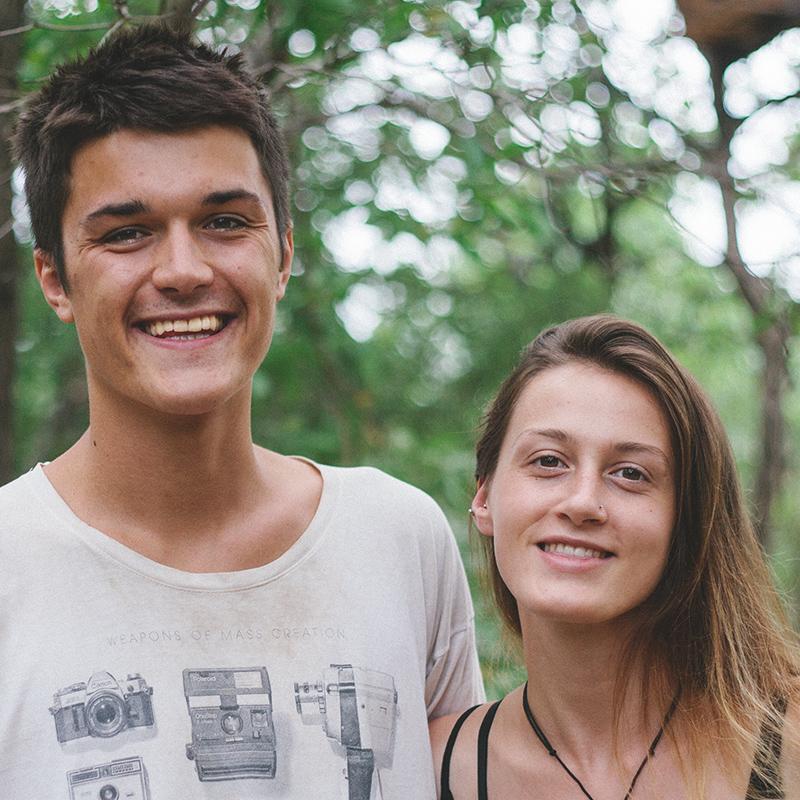 Joe Denford & Lauren McParland  | Long Term Integration Volunteer, Assistant Baby Mama & Long term Integration Volunteer