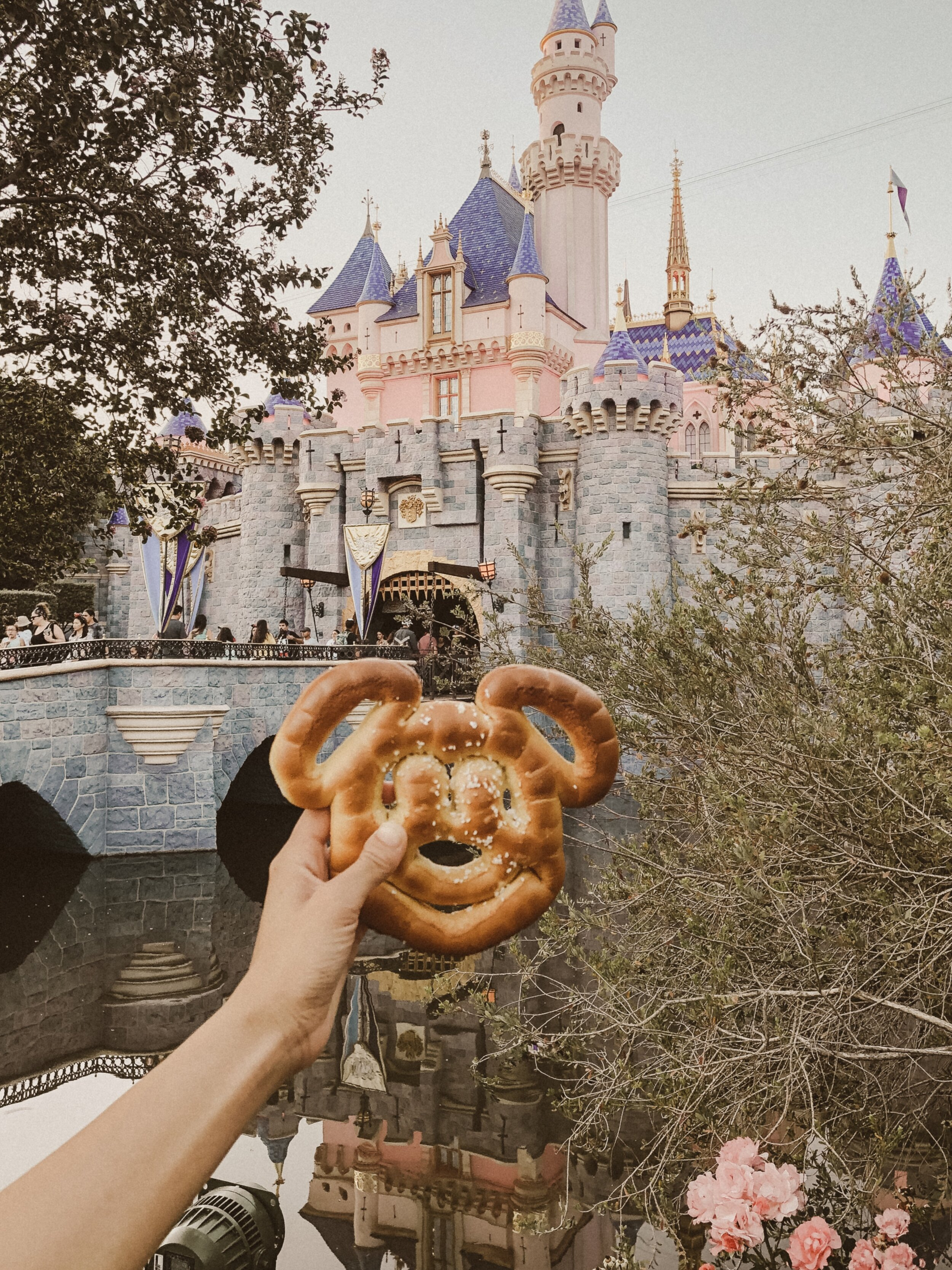 starting it off with a classic, the mickey mouse pretzel. no egg or dairy, which means it's totally vegan friendly. a favorite of mine for sure!