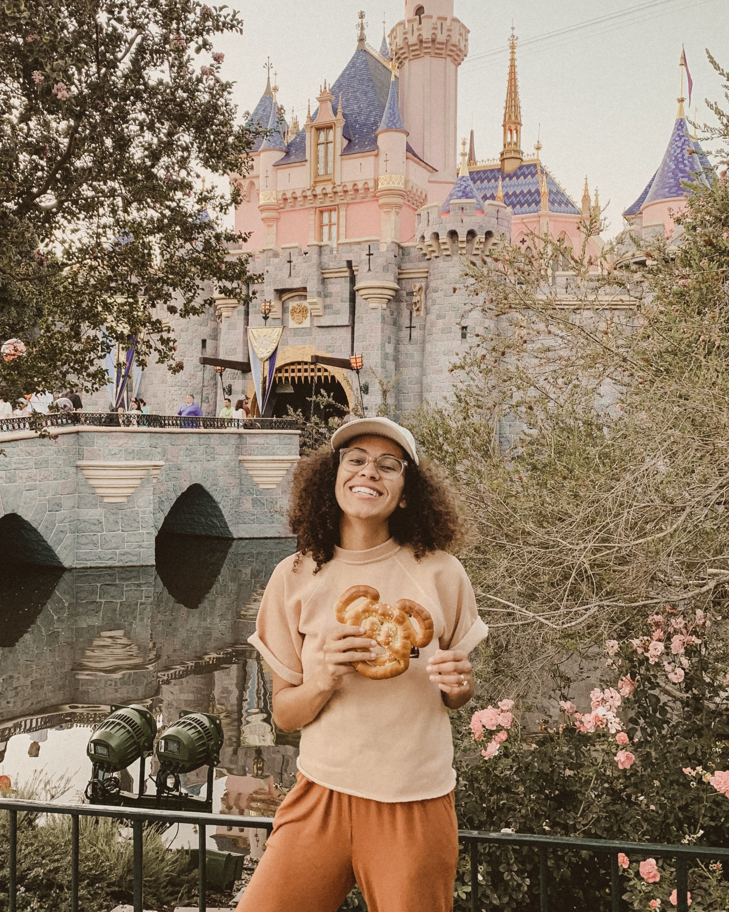 all in all, i was a very happy camper this disney trip and even had a small bite of a churro, despite it's lack of vegan-ness (shhh). i'm truly so thrilled to know that big empires like disneyland are realizing the diversity in lifestyle choices and are accommodating to all types of people. i hope this gave you some insight for your next disney adventure and if you stumble upon any more vegan goodness in the happiest place on earth, please let me know!