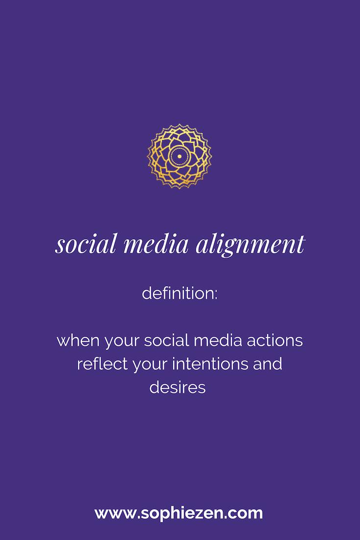 Sacred Social Media Alignment