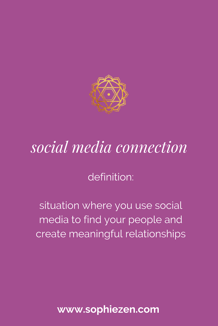 Sacred Social Media Connection
