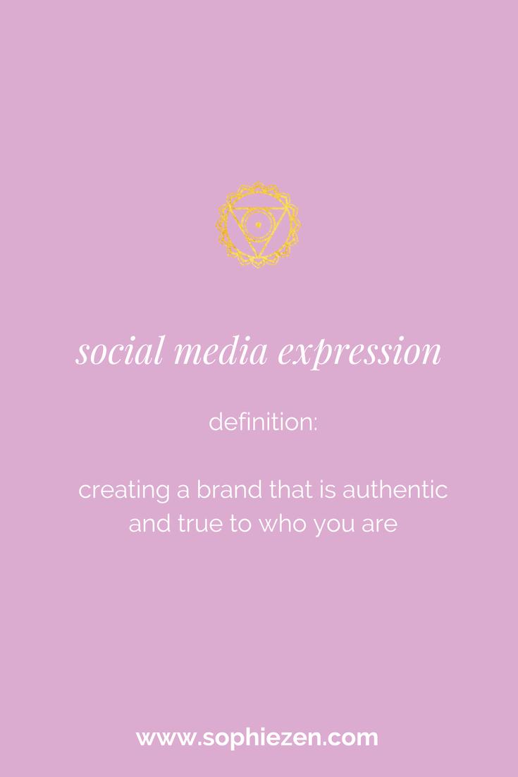 Sacred Social Media Expression