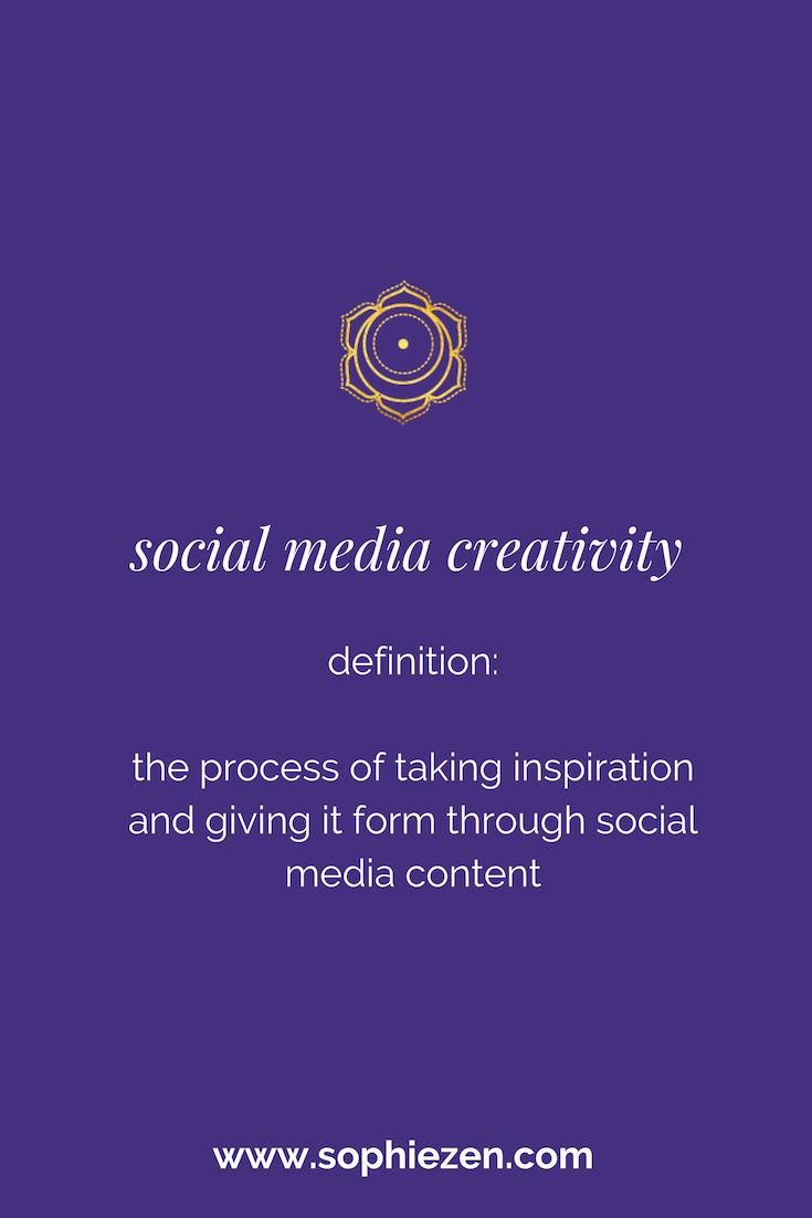 Sacred Social Media Creativity