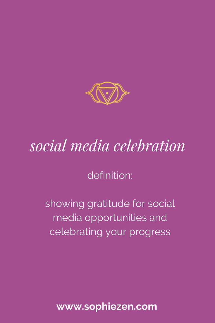 Sacred Social Media Celebration