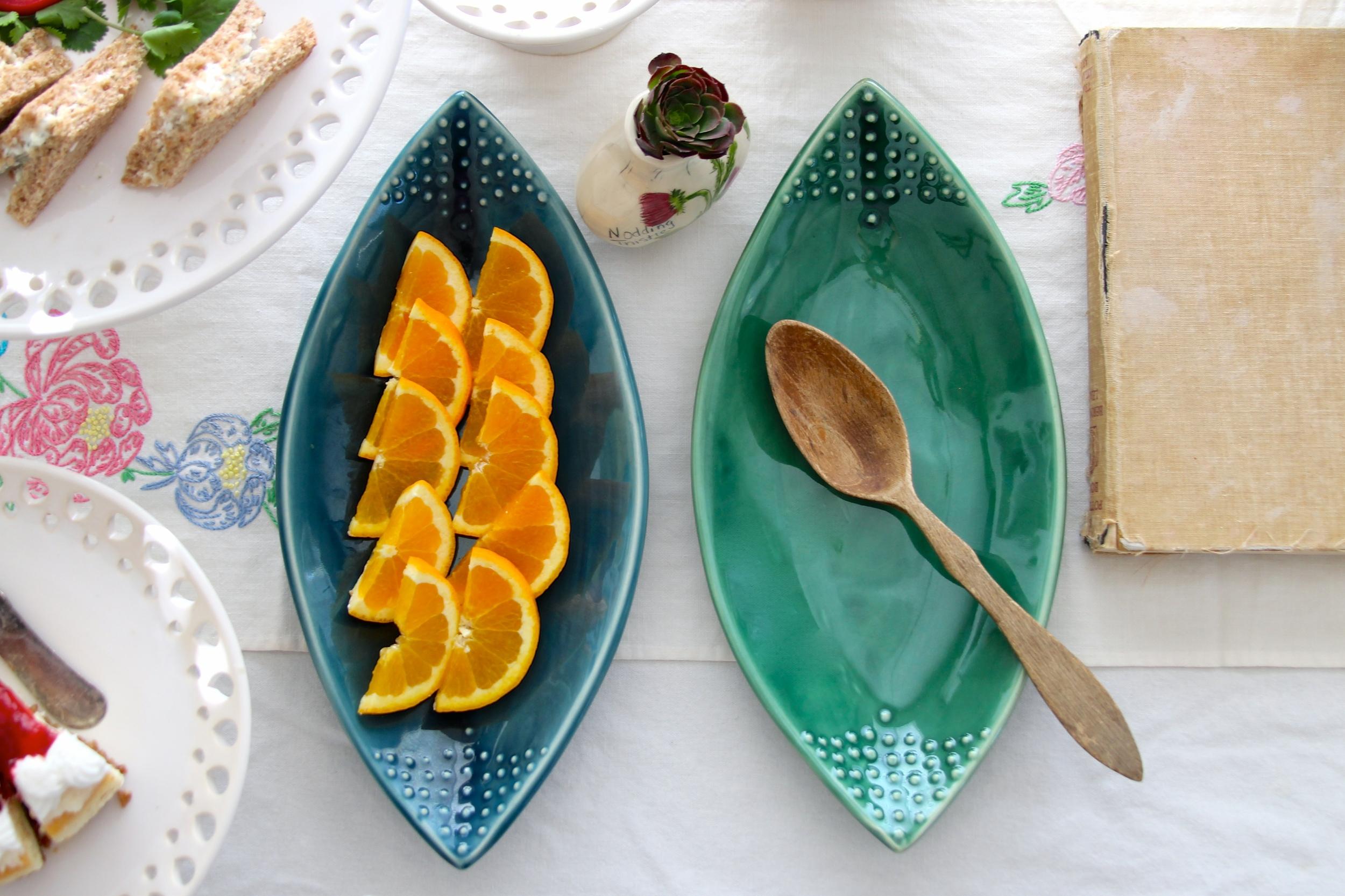 Teardrop Platters