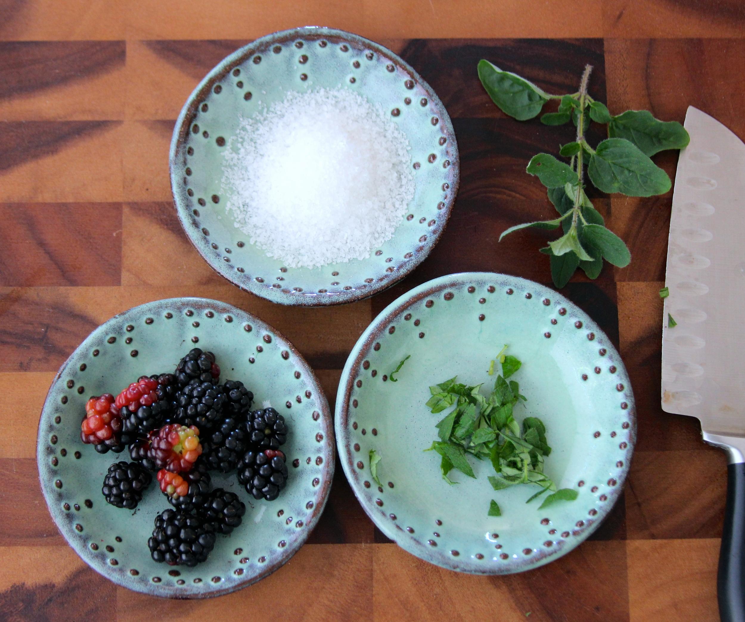Prep Bowls in Aqua Mist