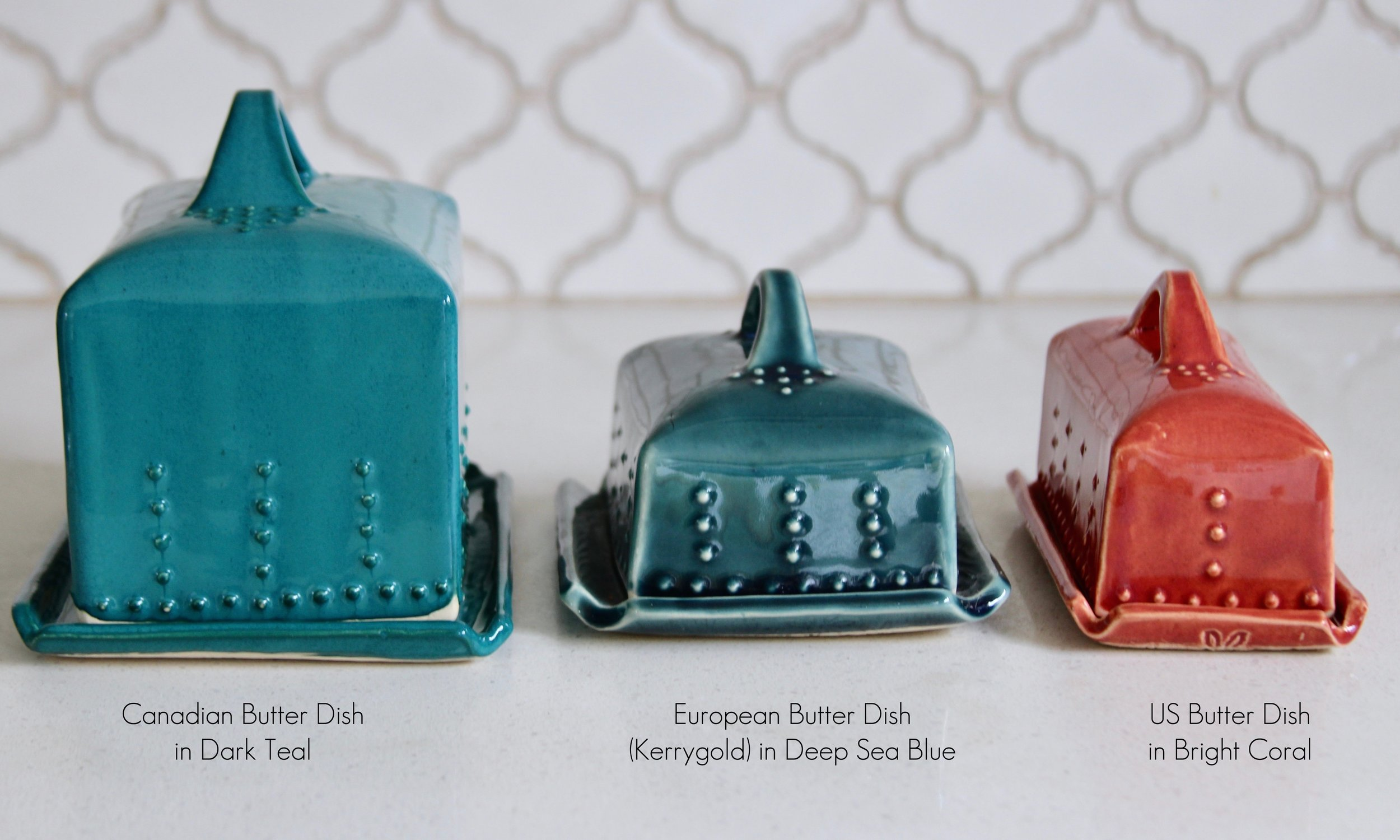 Butter Dish Sizes