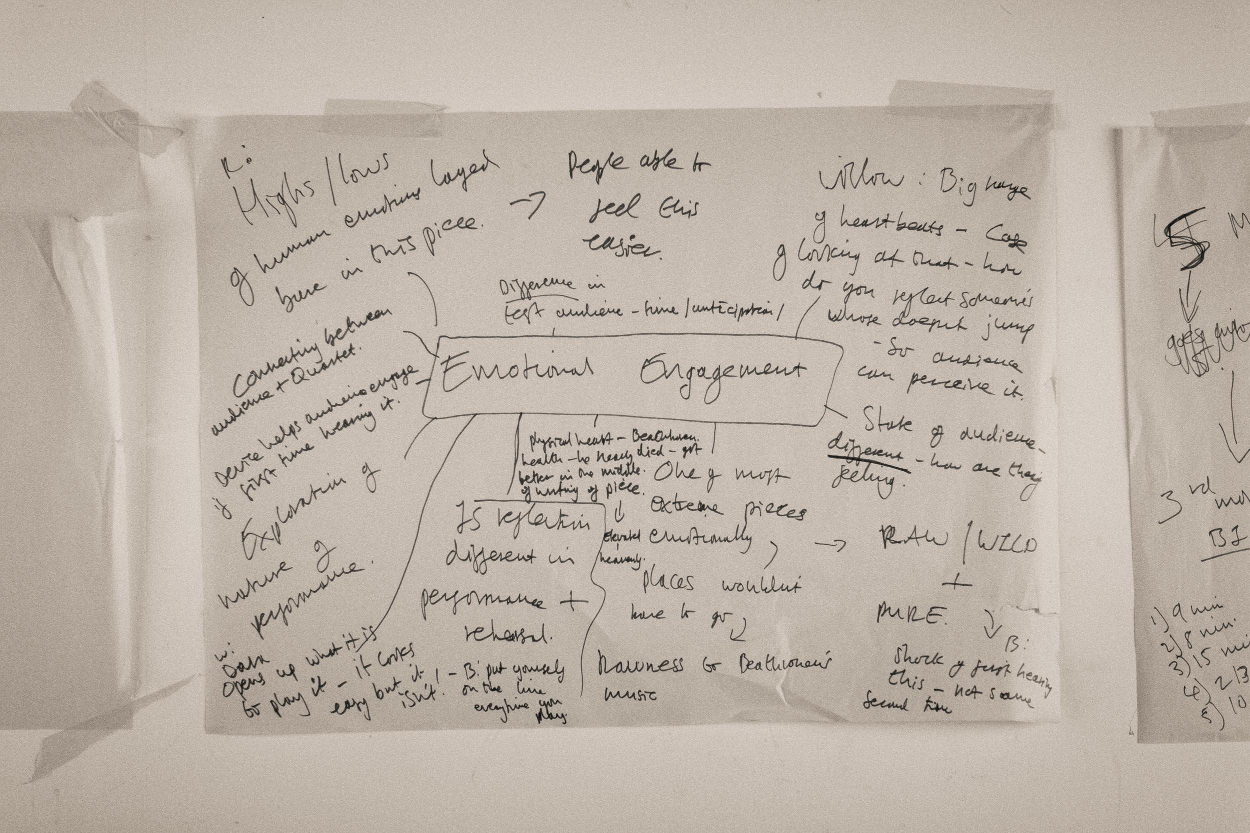 Emotional engagement- ideas map