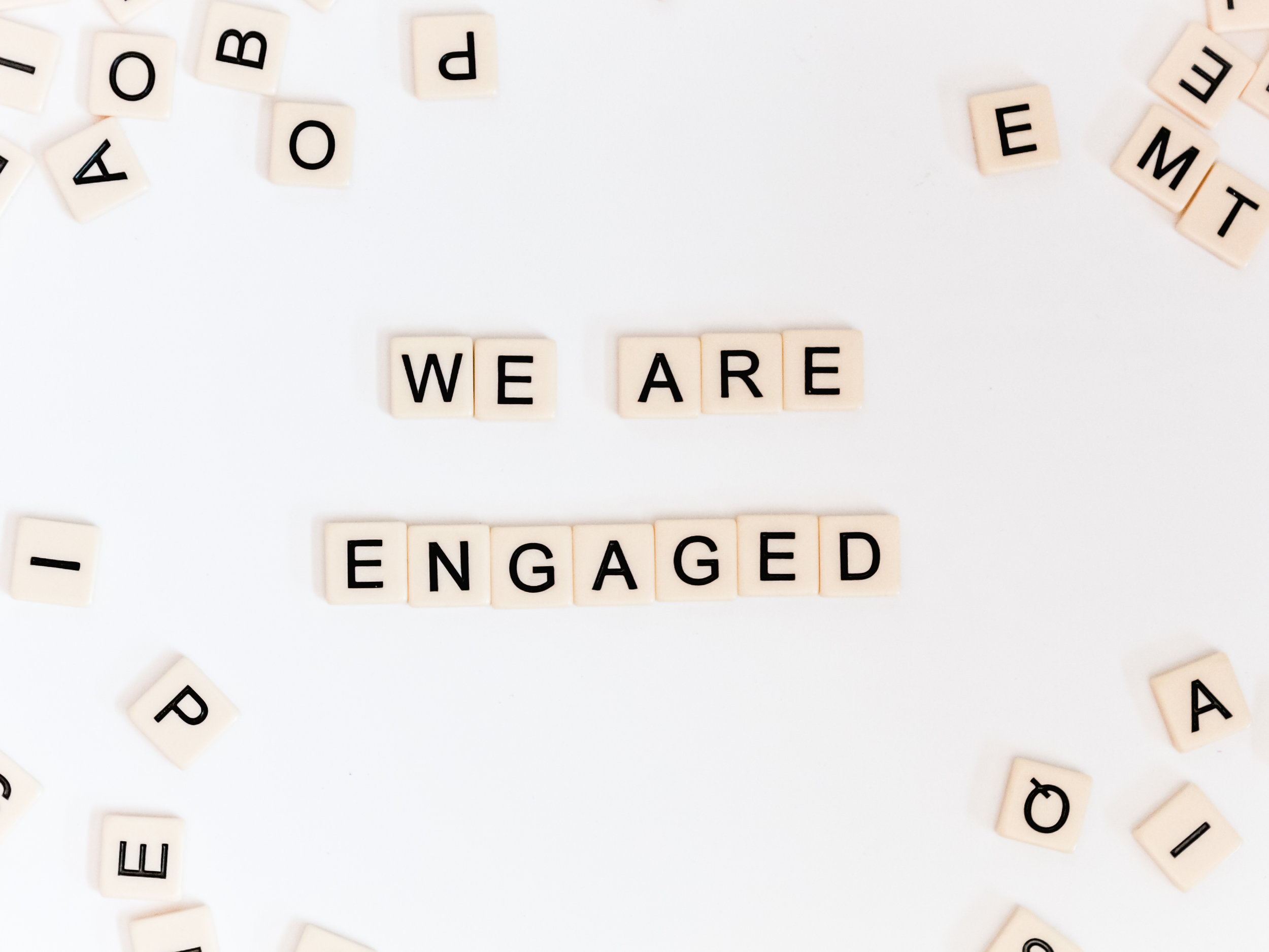 we+are+engaged