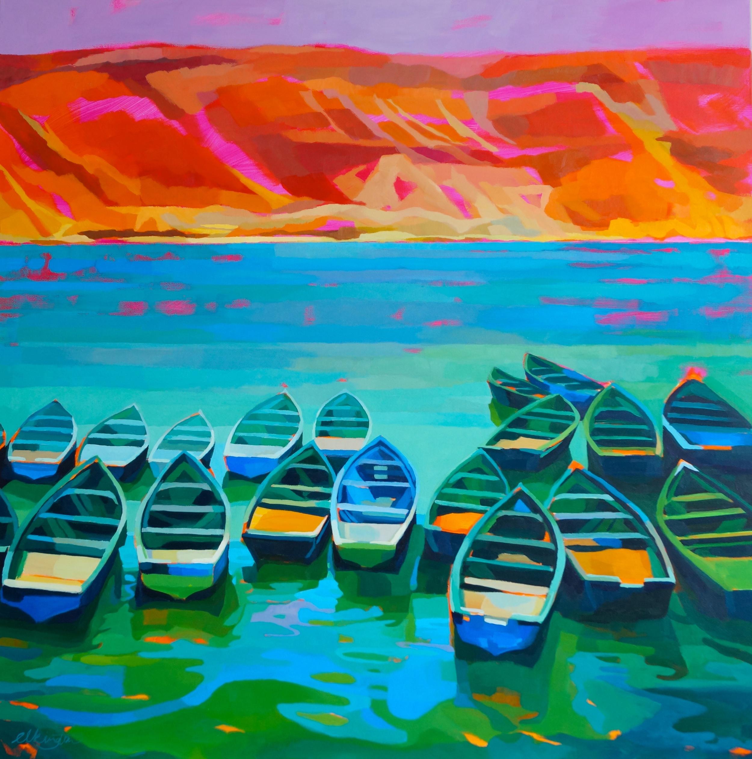 Moroccan Boats II