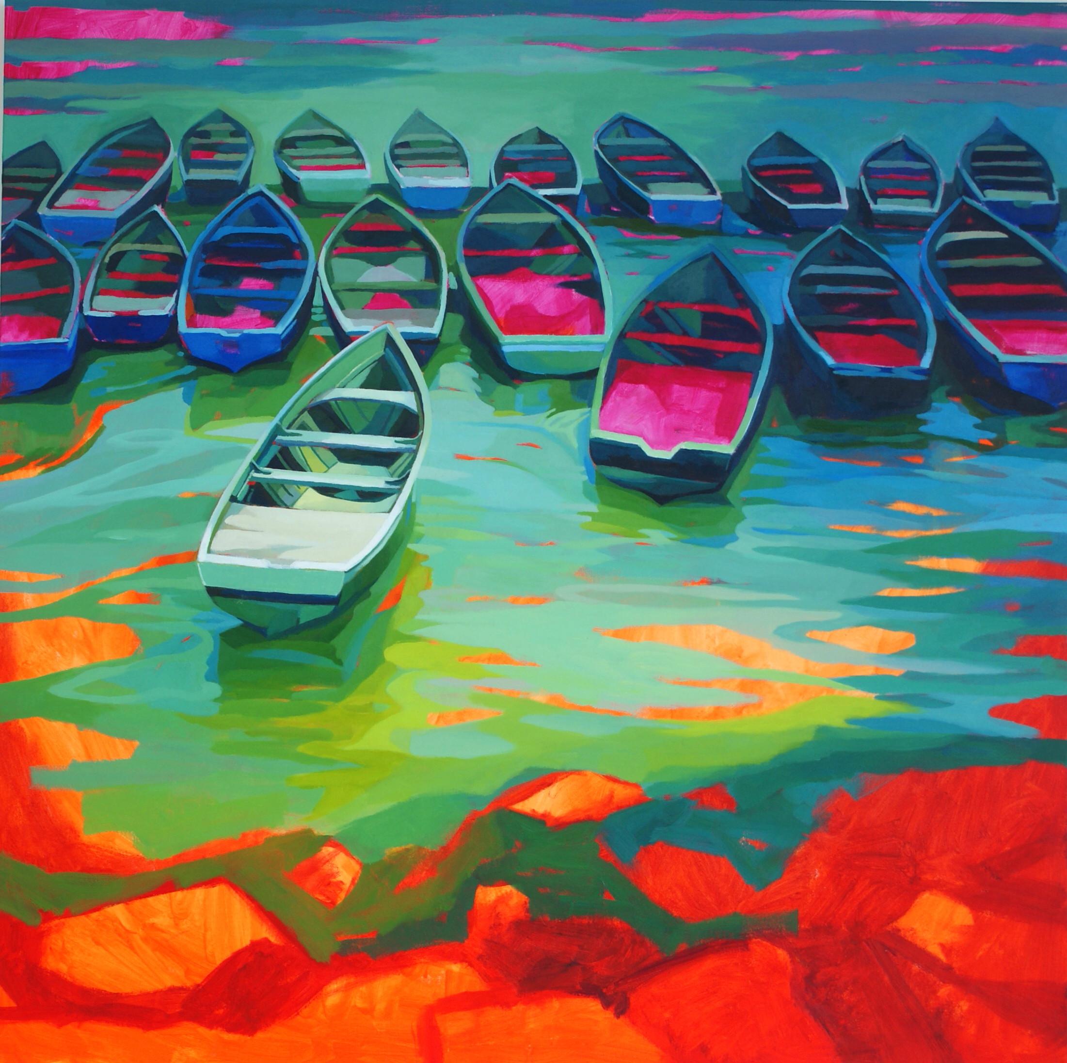 Moroccan Boats I