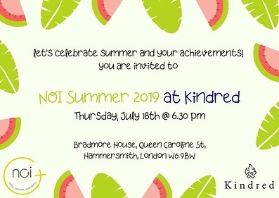 Hello there! Summer party anyone?! Here are all the details!!! 🍹WHERE: @londonkindred 🍹 WHEN: July 18 @ 6.30 pm 🍹 HOW: register via link in bio, it's FREE :) 🍹 WHAT: expect fun, smiles, connections and much more! . . . . . #summerparty #noiclub #noisummer2019 #londomevent #kindness #womencelebratingwomen #womeninstartups #womenwithprojects