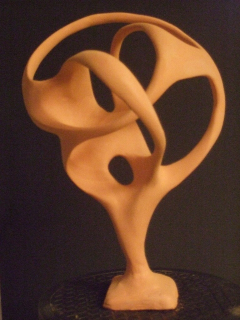 the sculpted model / das Modell
