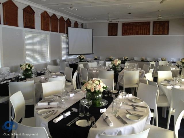 Formal Table Setting - Wedding Reception