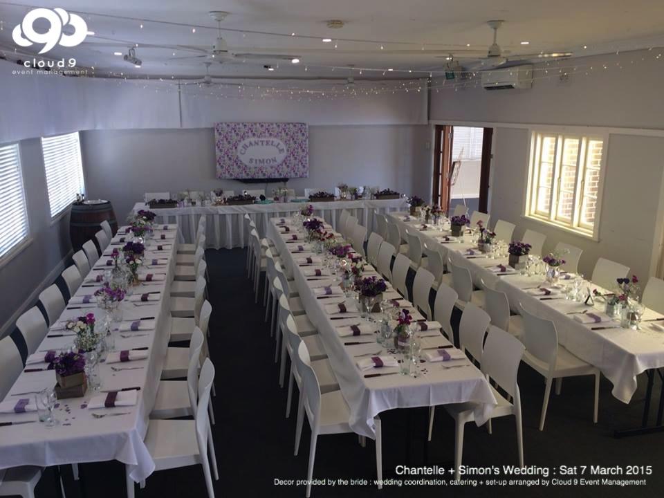 Wedding Reception - Formal sit down setting