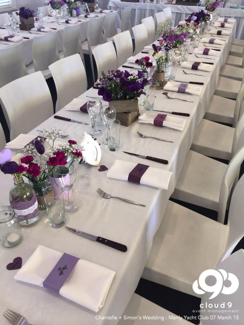 Wedding Reception - Formal Table Setting