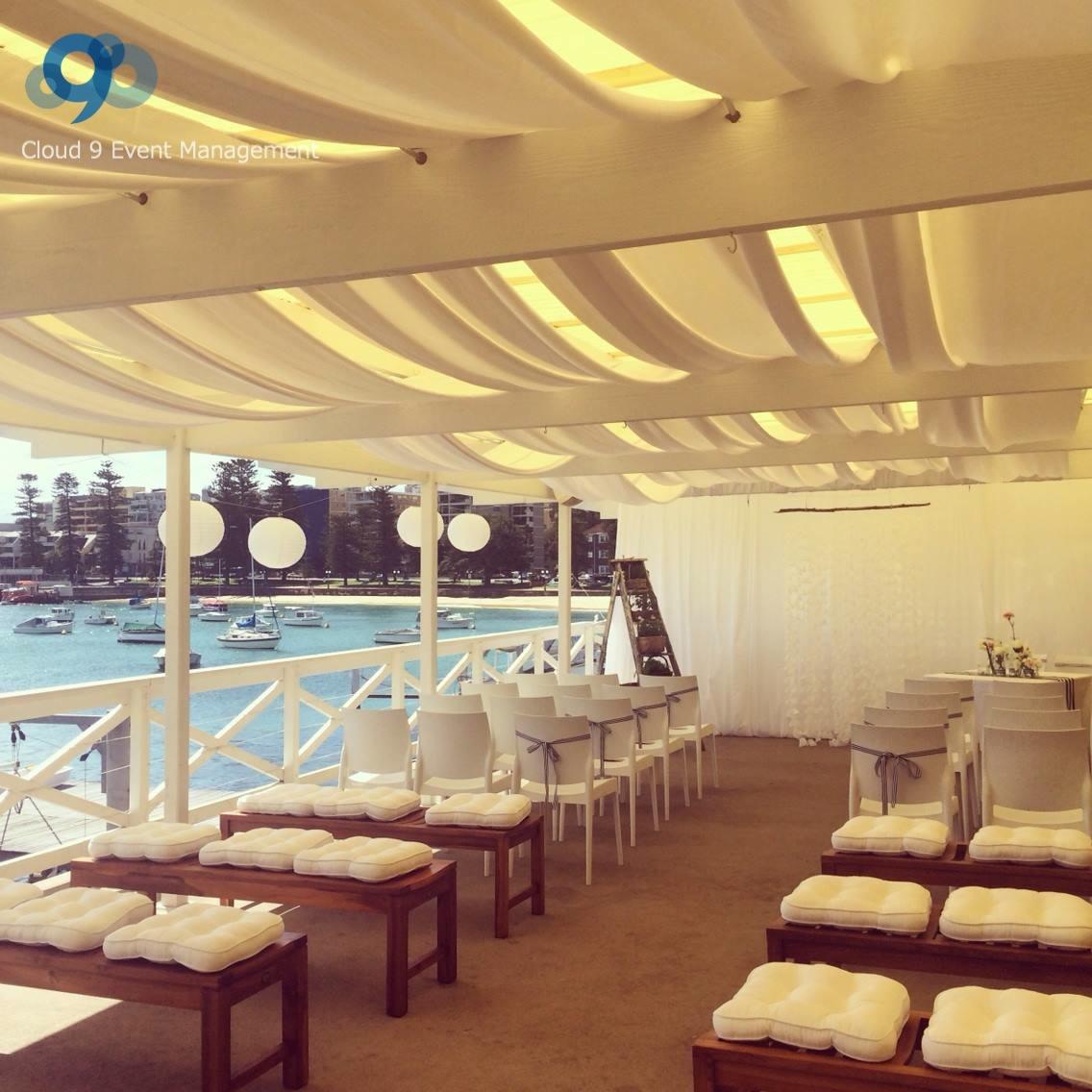 Yacht Club Wedding Ceremony
