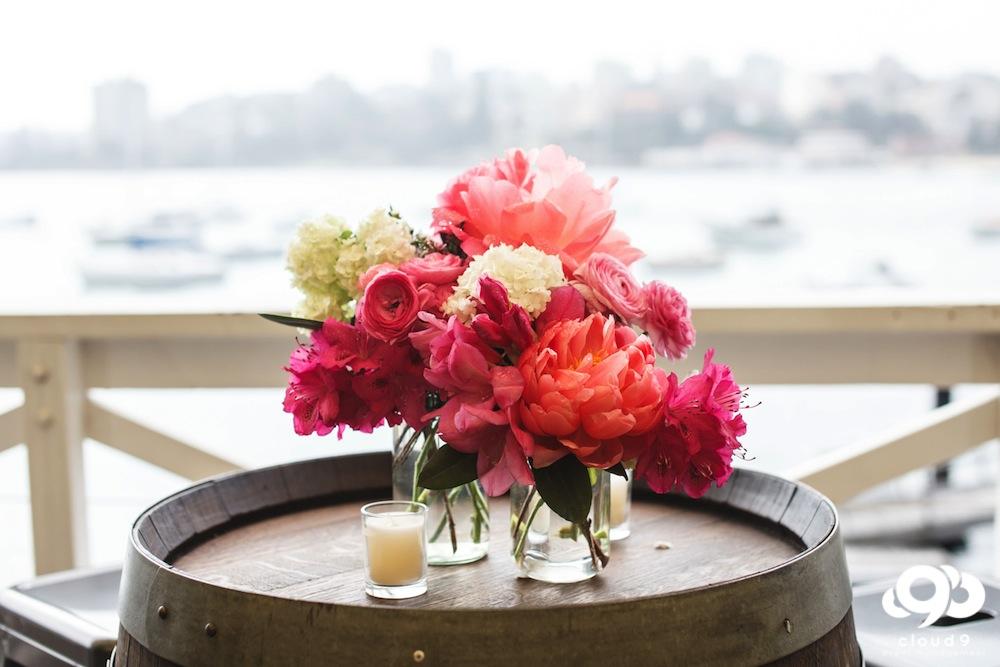 Tabel Centrepiece - floral design