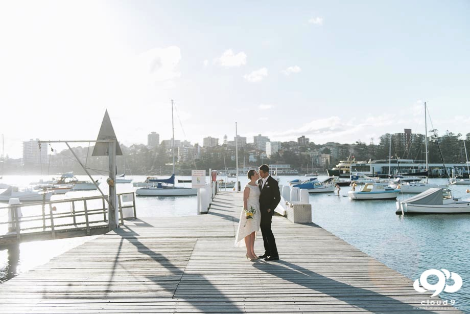 Yacht Club Photography with the Bride & Groom