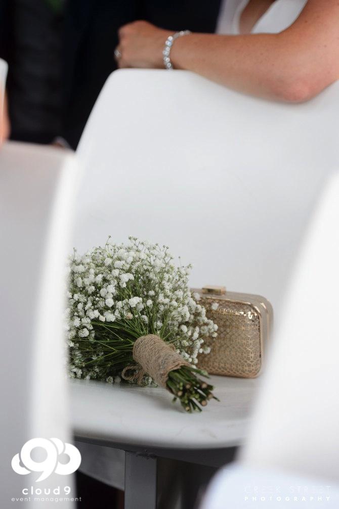 Bridal Bouquet - babies breath