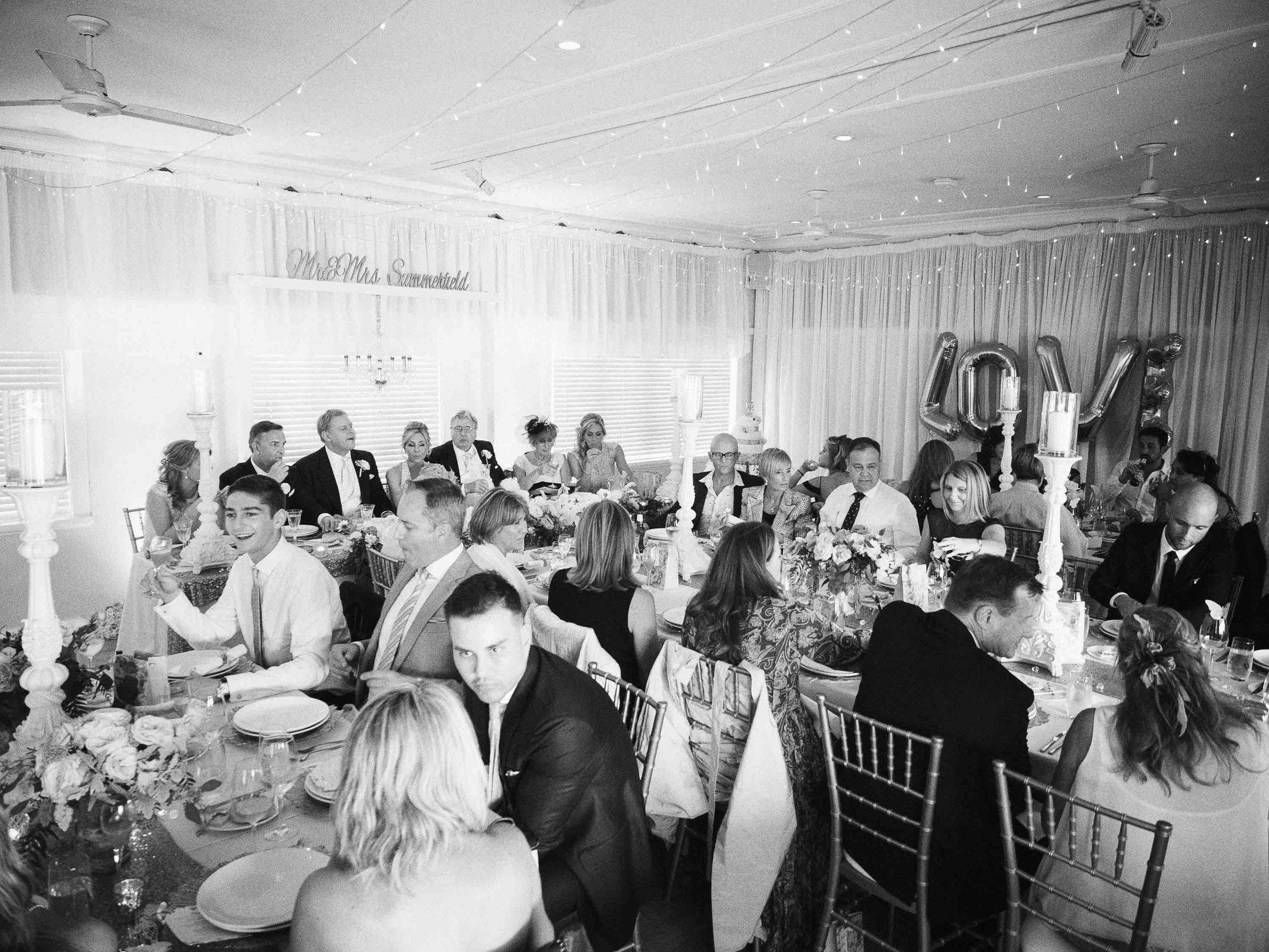Manly Yacht Club Formal Wedding Styling