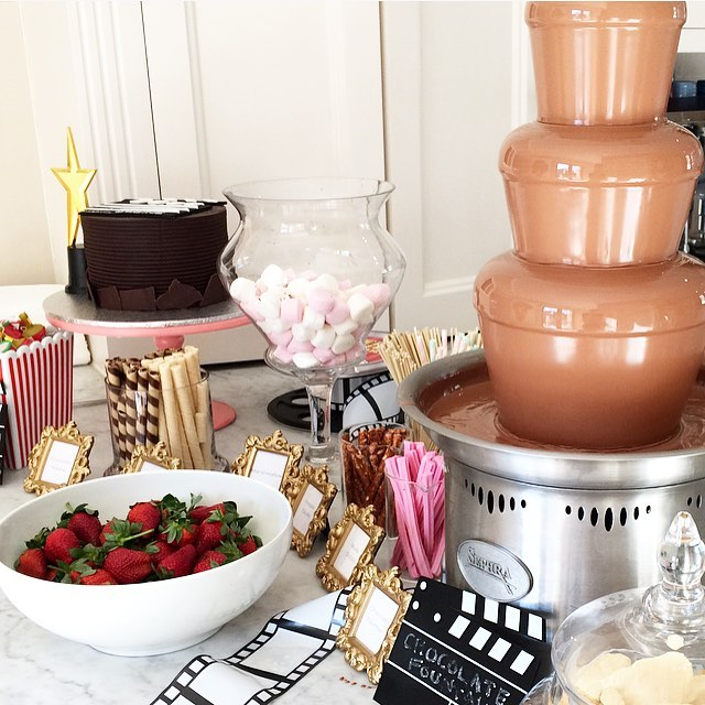 Chocolate Fountain Sweet Station Hire