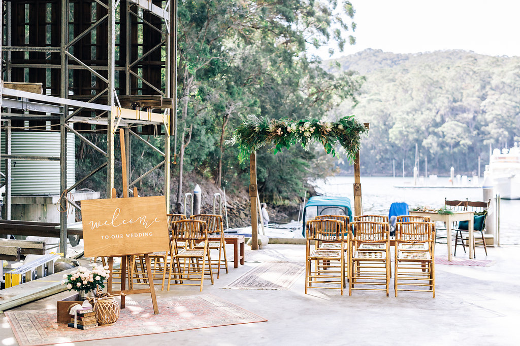 Rustic-Waterfront-Marina-Wedding-Ceremony-Vintage-Pilu.jpg