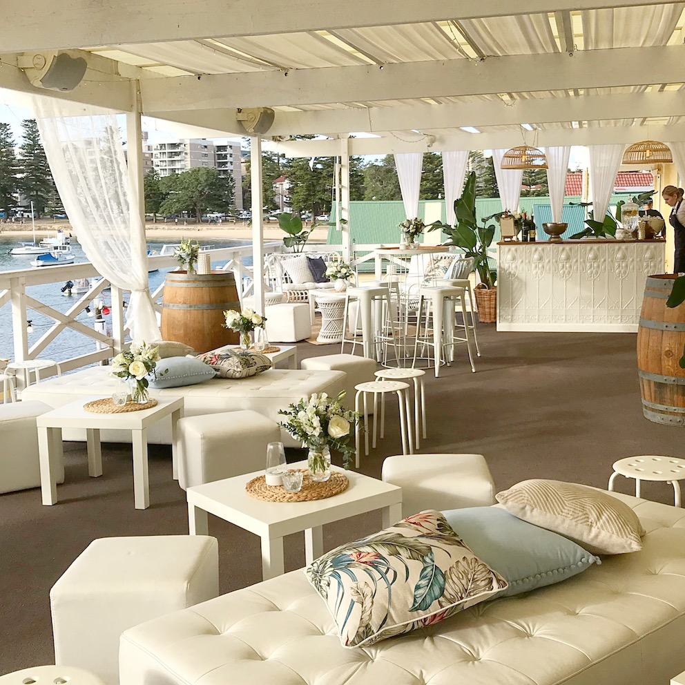 Manly Yacht Club Coasted Wedding Vibes