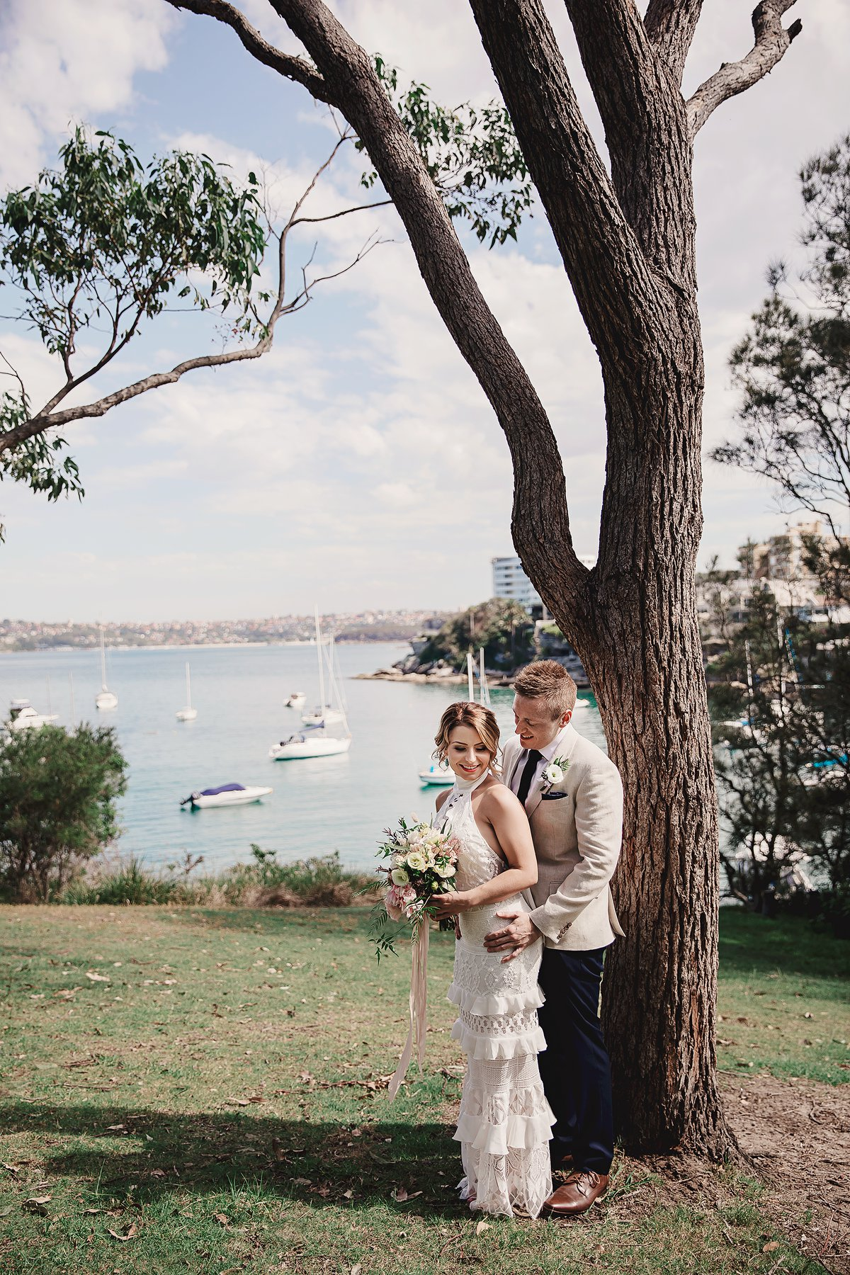 Wedding Day at Little Manly Point Rhys and Stacie.jpg