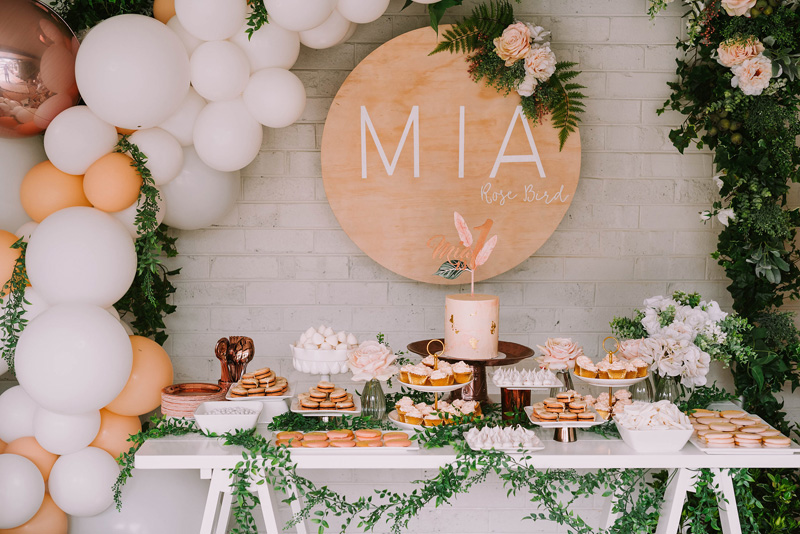 Rose Gold - MIA'S 1ST BIRTHDAY
