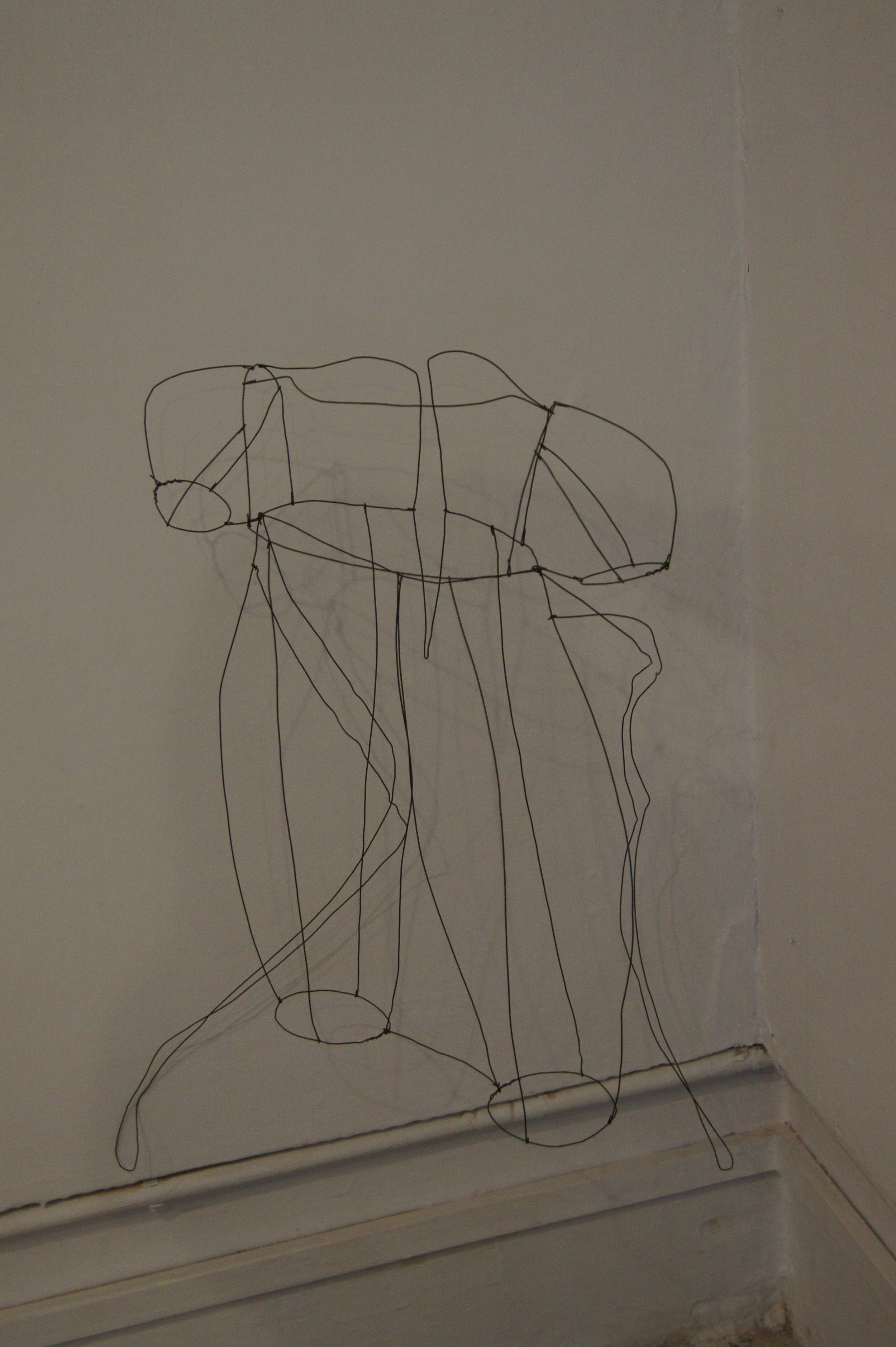 Untitled   Metal wire  Dimensions variable  2012
