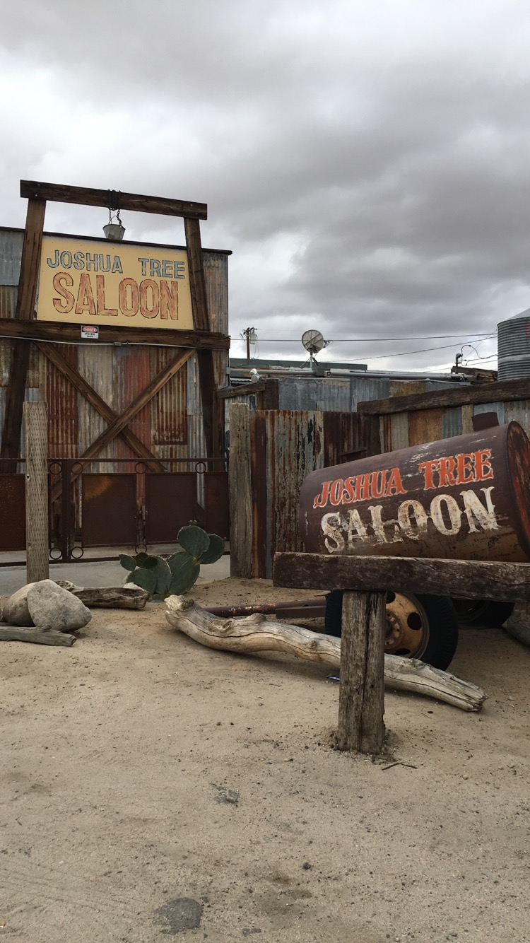 First time eating at the Joshua Tree Saloon!