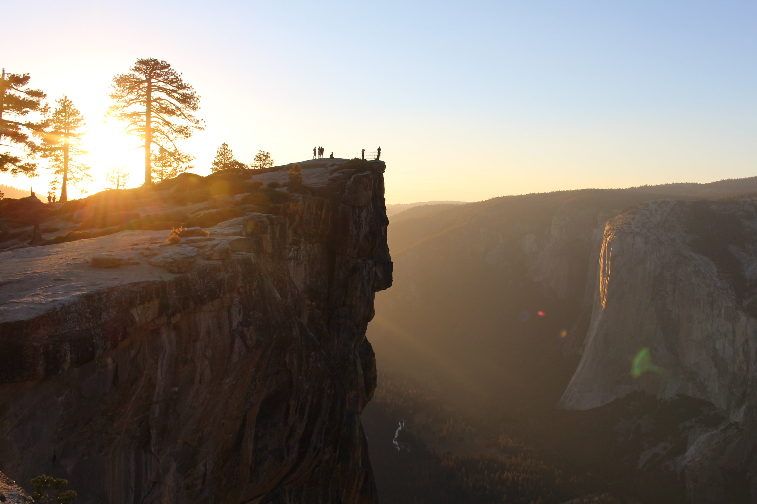 View at Taft Point