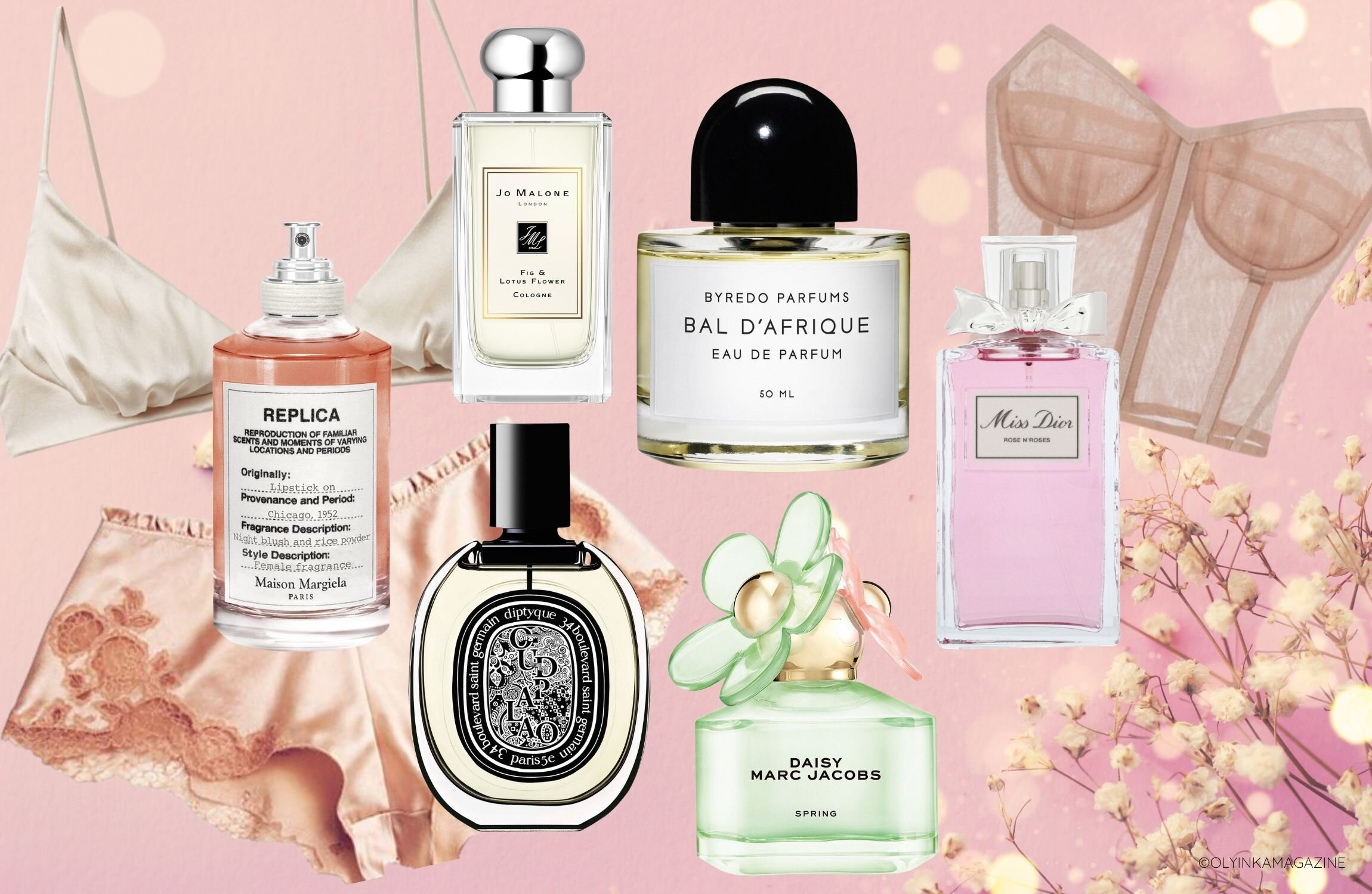 7 Lingerie Perfumes We Are Loving Right Now